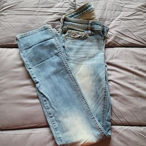 Size 0R Hollister straight cut jeans